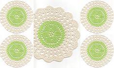 Set Of 5 Crocheted Doilies Crochet Medallions Assortment Mini Doily Boho Crafts Flower Dream Catcher Decorative Tea Time Coasters Home Decor by TheDoiliesEmporium on Etsy