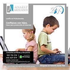 Confianza con hijos, clave para protección en internet. https://alvarezabogadostenerife.com/?p=3030 #internet #hijos #confianza