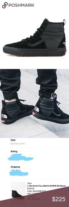 e8b1ec116b85 Vans x The North Face Sk8-Hi 46 MTE DX Shoe Black Vans x The