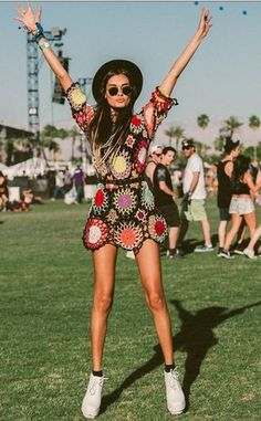 here are some of what fashion's finest wore to coachella to inspire you when you're packing for your festival!