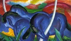 The-Large-Blue-Horses-1911-Der Blaue Reiter
