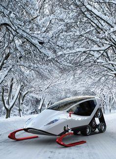 Luxury snowmobile...