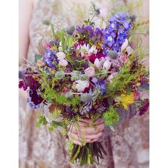 Bouquet de mariee champetre