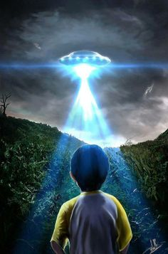 UFO art.