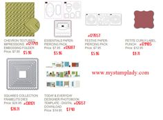 Weekly Stamp specials from Stampin' Up! www.mystamplady.com