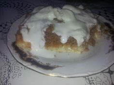 Placinta din carne de vita sau pui rapida | Dieta Dukan Pudding, Desserts, Food, Tailgate Desserts, Deserts, Custard Pudding, Essen, Puddings, Postres