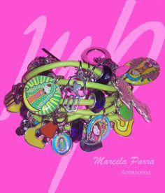 Colores fluor y accesorios que brindan un toque de estilo a tu pinta