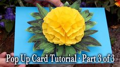 Flower Pop Up Card Tutorial Videos: Part 1: http://youtu.be/a2rxjPPIwkI Part 2: http://youtu.be/Iy-YGnLLL5A Part 3: http://youtu.be/_ErG071fRIM ... Download ...