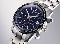 Watches by SJX: Introducing The Grand Seiko Anniversary Spring Drive Chronograph (With Pricing) Dream Watches, Fine Watches, Sport Watches, Amazing Watches, Cool Watches, Breitling Navitimer, Limited Edition Watches, Seiko Watches, Box