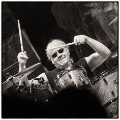 Ian Paice of Deep Purple  Clemens Mitscher Rock & Roll Fine Arts