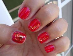#retocolorescosasdechicasvol4 #manicuras #nails Manicuras y belleza blog: Reto colores cosas de chicas: manicura naranja.