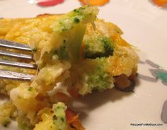 Recipes For My Boys: Broccoli Corn and Cheese Jiffy Mix Casserole