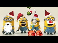 """Happy Valentine's Day Minions!!!!"" video: http://youtu.be/Y8jKO07H8aA ""Minions for Oscar!!!"" video: http://youtu.be/Vj67UuE0wUo ""Minions meet...Santa Claus!..."