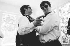 Southern Savvy Events | Brittney & Derek | Duke Mansion | Wedding Day | The Black Tux | Groomsmen Inspiration | Groomsmen Details | Wedding Reception