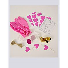 Pink Balloon Kit | 8 ct
