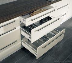 Modern Two-Tone Kitchen Cabinets  #04 (Alno.com, Kitchen-Design-Ideas.org)