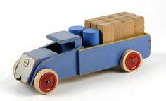 Vrachtwagen (klein)   Collectie Gelderland
