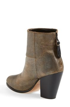 rag & bone 'Newbury' Metallic Leather Bootie