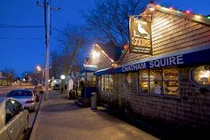 Chatham Squire Restaurant Exterior by Chris Seufert, via Flickr