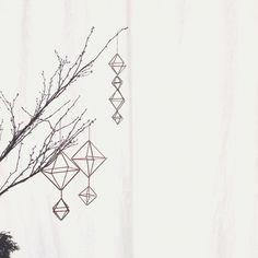 Sachiさんの、ハンドメイド,雑貨,植物,カーテン 白,手作り,ヒンメリ,リビング,のお部屋写真