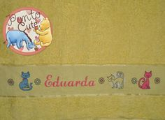 Ponto Cute: Toalha de Banho Eduarda