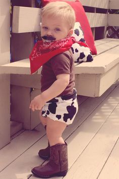 Vintage Cowboy First Birthday Party