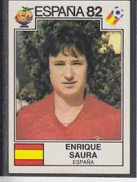 Image result for espana 82 panini 303 saura
