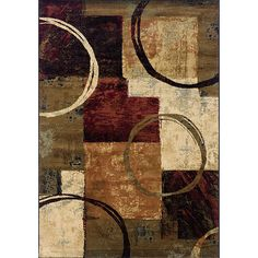 Brown/Black Area Rug (7'8 x 10'10) - Overstock Shopping - Great Deals on Style Haven 7x9 - 10x14 Rugs