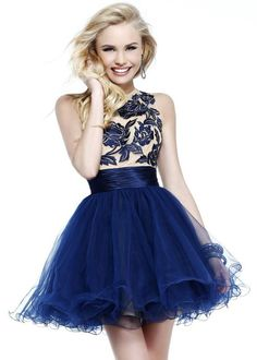 sherri hill dresses navy - Google Search