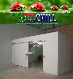 Holstein Meat storage  by Africhill http://www.aboard.co.za/