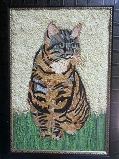 Mozaik kedi