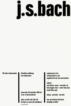 jost hochuli poster bach designculture