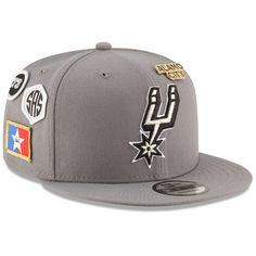low priced ce1cc 08c85 San Antonio Spurs New Era 2018 NBA Draft 9FIFTY Adjustable Hat – Gray