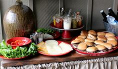A Hamburger Bar for the 4th of July » Talk of the House