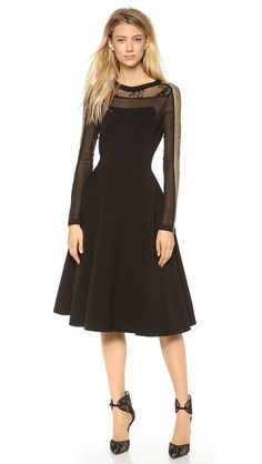 PHILOSOPHY Dress with Detailed Sleeves.  First need dress, then need some place to wear it.