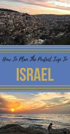 Most people that go on a trip to Israel typically visit Jerusalem, Tel Aviv and little else. Yet, there's so many more place to visit in Israel! The desert in the South, the hills of Galilee and forests in the North; beautiful cities such as Haifa or Akko; and the incredibly fun Eilat. In this post, I give tips for those who travel to Israel and point out all the unmissable things to do in Israel | #israel #jerusalem