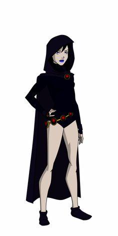Raven Dcu By by on DeviantArt Raven Superhero, Superhero Characters, Dc Comics Characters, Dc Comics Art, Comic Book Girl, Comic Books, Frank Miller Comics, Robin And Raven, Avengers Alliance