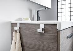 Set de 2 colgadores para mueble | Complementos para muebles | Muebles de baño | Productos | Roca