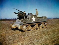 The 105 mm Howitzer Motor Carriage M7 Priest