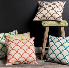 Scalloped Pillow from Surya
