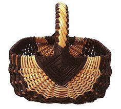 Beautifully woven basket.