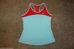 Nike Dri Fit Womens Razorback Tank Top Athletic Shirt Size Medium #Nike #ShirtsTops