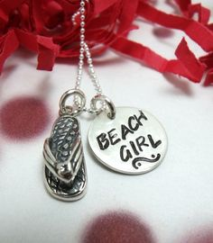 Hand Stamped Beach Quote Necklaces – Beach Bliss Living - Decorating and Lifestyle Blog