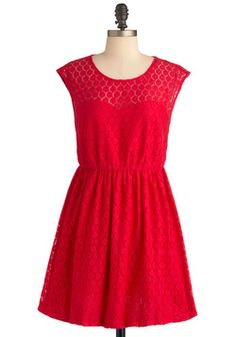The Lace You Know Dress, #ModCloth
