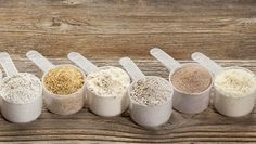 Going gluten-free is not just a fad, many people are feeling better without it. Here are 10 different ways to make homemade gluten free flour. (homemade desserts without flour) Gluten Free Flour Mix, Gluten Free Diet, Foods With Gluten, Gluten Free Baking, Gluten Free Recipes, Paleo Diet, Vegan Recipes, Sans Gluten Ni Lactose, Pan Sin Gluten
