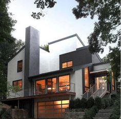 diseño de fachadas de casas modernas hermosas