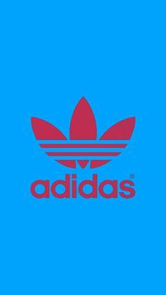 Adidas Backgrounds, Cool Backgrounds, Galaxy Phone Wallpaper, Iphone Wallpaper, Blue Flower Wallpaper, Football Wallpaper, Blue Adidas, Art Logo, Adidas Logo
