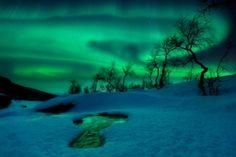Aurora borealis photographed by Arild Heitmann (Norway)
