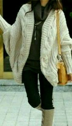 Comfy, chunky sweater