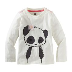 Pretty Panda Graphic Tee (3F12010)   Tea Collection
